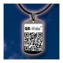 Chapa identificación QRVIDA