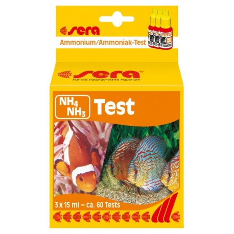 Test Amonio/amoniaco (NH3/NH4)