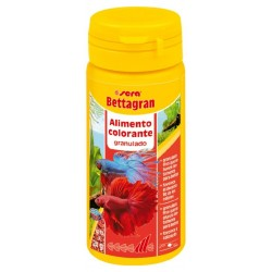 Bettagran alimento para peces Betta