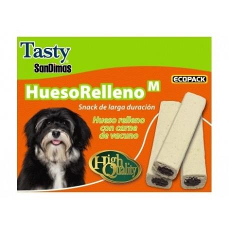 Snack perro Hueso relleno