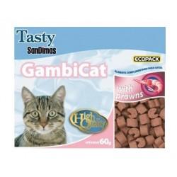 Snack gato Gambicat