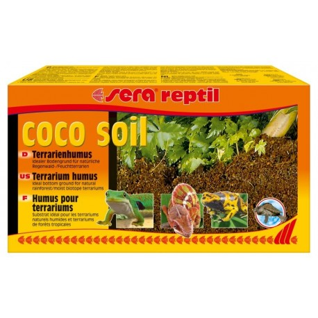 Substrato reptiles Coco Soil