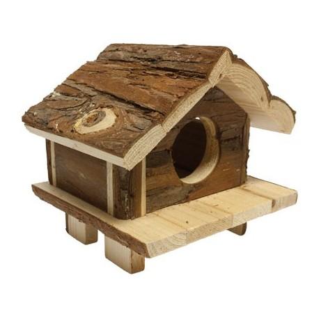 Casita madera hamster