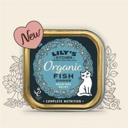 Lilys Organic Pescado tarrina para gatos
