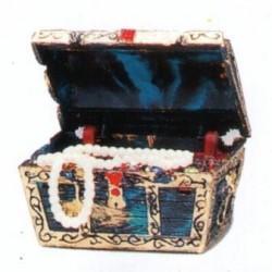 Decoración cofre del tesoro