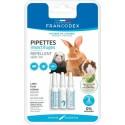 Pipetas repelentes de parasitos para conejos cobayas y hurones