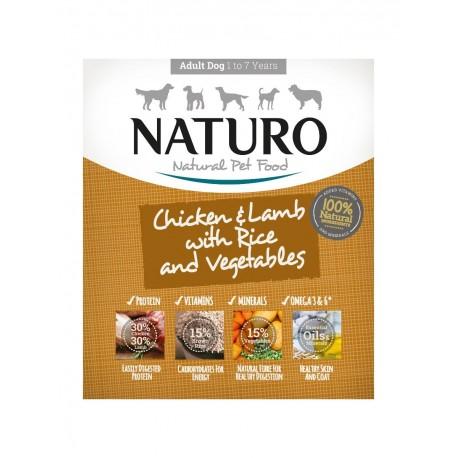 Naturo Pollo / Cordero 400 grs