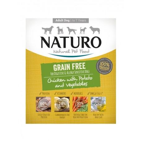 Naturo Grain Free Pollo 400 grs