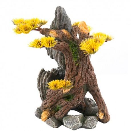 Árbol raíces decoración acuario