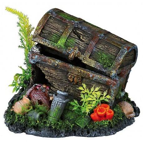 Cofre del tesoro decoración acuario
