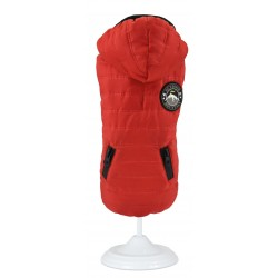 Abrigo impermeable outdoor mountain rojo