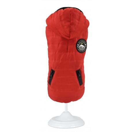 Abrigo impermeable outdoor mountain rojo