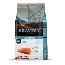 Bravery Salmón Gatos Esterilizados