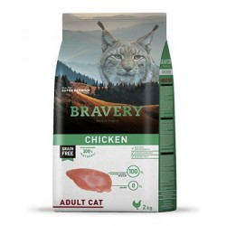 Bravery Pollo Gato Adulto
