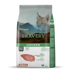 Bravery Pollo para Gatitos