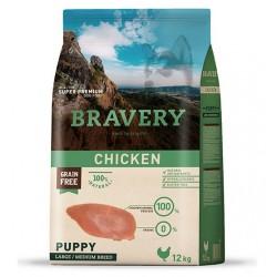 Bravery Pollo Puppy Cachorros medianos y grandes