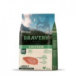 Bravery Pollo Perros adultos Medianos y grandes