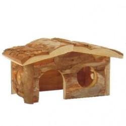 Casita madera conejos