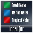 Para agua fría, tropical o marino