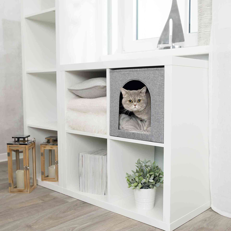 Ideal para integrar en estanterías Ikea