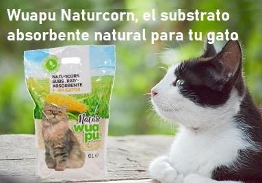 Naturcorn, el absorbente natural para tu gato